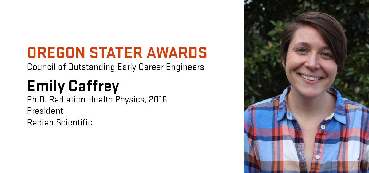 Emily Caffrey graduated from Oregon State in 2016.